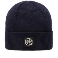 Paul Smith Merino Beanie Blue