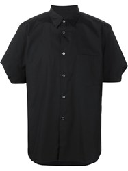 Comme Des Gara Ons Homme Plus Cut Out Sleeve Shirt Black