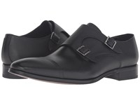 To Boot Grant Black Cavier Men's Lace Up Moc Toe Shoes