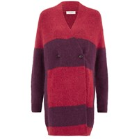 Paul By Paul Smith Women's Double Breasted Knitted Cardigan Red