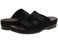 Helle Comfort Talasi Black Women's Slide Shoes