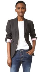 Dsquared London Notch 2 Button Jacket Dark Grey