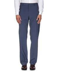 Paoloni Trousers Casual Trousers Men Slate Blue