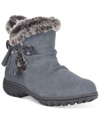 Khombu Women's Isabella Cold Weather Booties Women's Shoes Gray