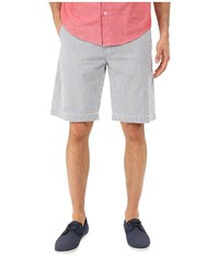Lacoste Seersucker Striped Bermuda Short Philippines Blue White Men's Shorts