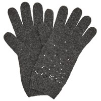 John Lewis Studded Gloves Charcoal