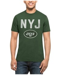 47 Brand '47 Men's New York Jets City Style Splitter T Shirt Green White