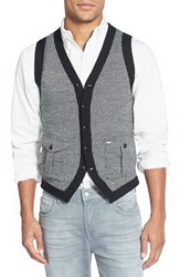 Men's J. Press York Street Herringbone Knit Vest