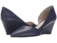 Kenneth Cole Ellis Navy Women's Wedge Shoes