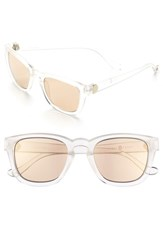 Women's Ivanka Trump 50Mm Keyhole Sunglasses Crystal