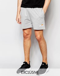 Ellesse Retro Jersey Shorts Gray