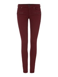 Maison Scotch Parisienne Skinny La Luna Jean Red