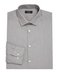 Theory Docer Regular Fit Dress Shirt Night