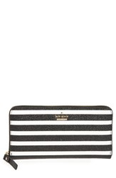 Kate Spade Women's New York Hawthorne Lane Lacey Glitter And Faux Leather Wallet