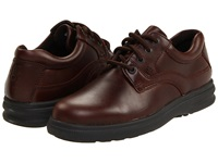 Hush Puppies Glen Brown Pull Up Leather Men's Lace Up Casual Shoes Mahogany
