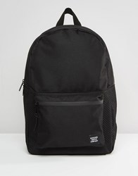 Herschel Supply Co Settlement Backpack With Perforated Detail In Black 23L Black