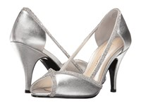 Caparros Faith Silver Metallic High Heels