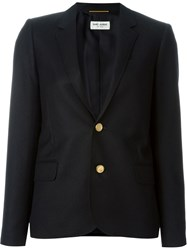 Saint Laurent Classic Casual Blazer Black