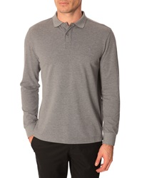 Menlook Label Sully Flecked Grey Polo