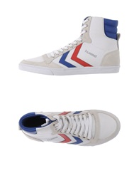 Hummel High Tops And Trainers White