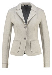 More And More Blazer Light Grey Melange Silver