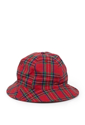 Forever 21 Rounded Plaid Bucket Hat