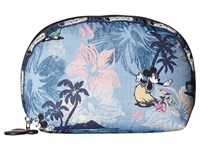 Le Sport Sac Medium Dome Cosmetic Vacation Paradise Cosmetic Case Blue