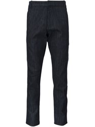Christopher Raeburn Woven Trousers Blue