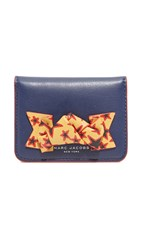 Marc Jacobs Bow Card Case Midnight Blue