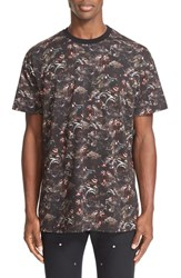 Givenchy Men's 'Monkeys All Over' Print T Shirt