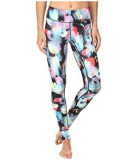 Asics Performance Run Printed Tights Inkblot Floral Women's Casual Pants Multi