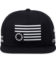 Black Scale Protect Rebels Snapback Cap