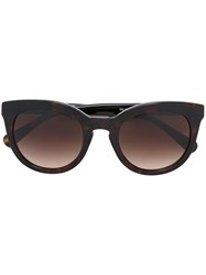 Dolce And Gabbana Cat Eye Sunglasses Black