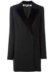 Mcq By Alexander Mcqueen Double Breasted Coat Black