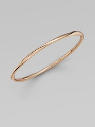 Ippolita 18K Gold And Sterling Silver Bangle Bracelet Rose Gold
