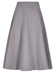 Winser London Full Circle Midi Skirt Grey
