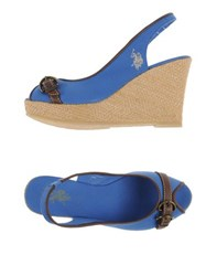 U.S. Polo Assn. U.S.Polo Assn. Footwear Sandals Women Blue