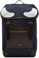 Givenchy Blue Denim Rucksack