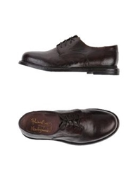 Primabase Lace Up Shoes Dark Brown