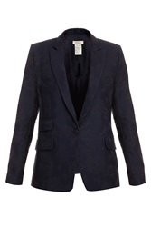 Paul And Joe Jacquard Navy Blazer