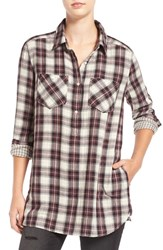 Women's Bp. Plaid Popover Tunic