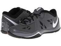 Nike Air Ring Leader Low 2 Nbk Dark Grey Black White Men's Basketball Shoes Gray