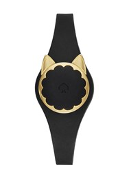 Kate Spade Black Cat Scallop Activity Tracker