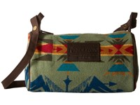 Pendleton Dopp Bag With Strap Echo Peaks Sage Bags Orange