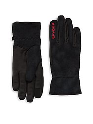 Spyder Stryke Fleece Gloves Black