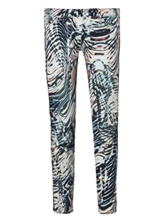 Iro Aster Mid Rise Printed Skinny Jeans