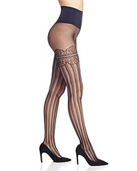 Commando Colette Faux Thigh High Tights Black
