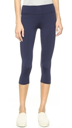 Solow So Low Sport High Impact Crop Leggings Navy