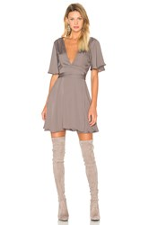 House Of Harlow X Revolve Harper Wrap Dress Gray