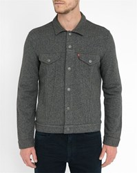 Levi's Grey Terry Pr Trucker Jacket